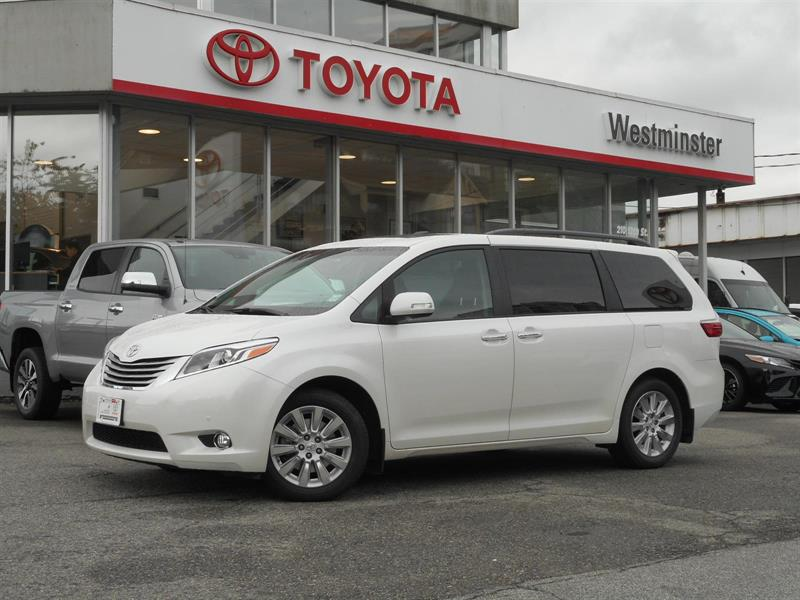 2015 Toyota Sienna Limited AWD #P6655T