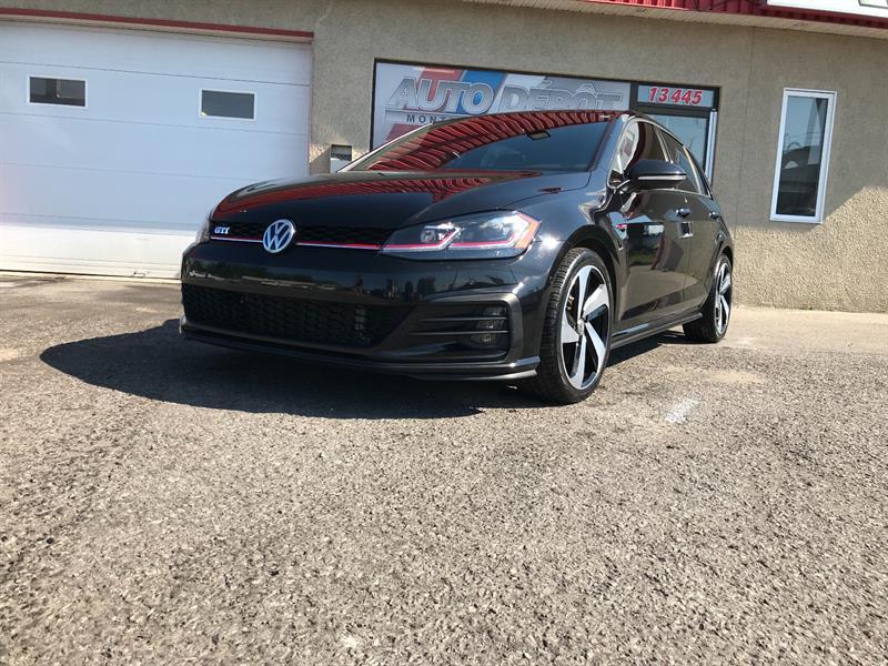 Volkswagen Golf Gti 2018 DSG AUTOBAHN, CUIR, TOIT , NAVI #OP