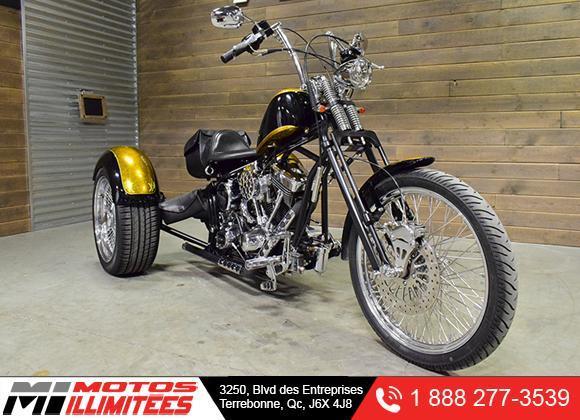 Harley Davidson Trike artisanal S&S 1340cc 2009