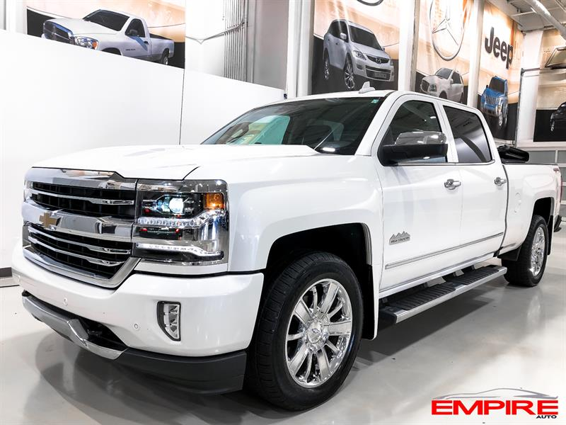 2016 Chevrolet Silverado 1500 4WD Crew Cab High Country #A6830
