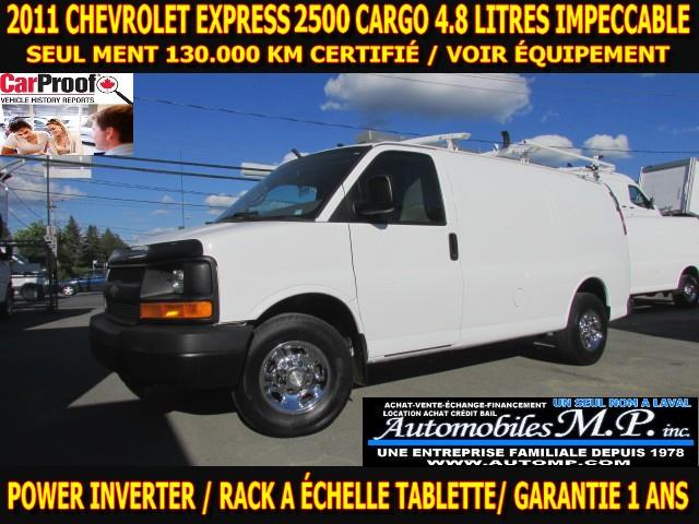 Chevrolet Express 2500 2011 CARGO RACK A ÉCHELLE TABLETTE  #1157