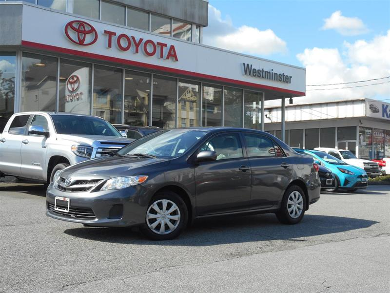 2013 Toyota Corolla Enhanced Convenience Package with Sunroof #CR18782A