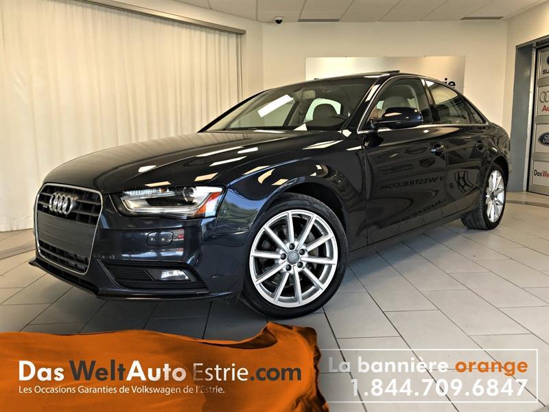 Audi A4 2014 2.0 Progressiv, Toit, GPS, Automatique #AUDI---7316