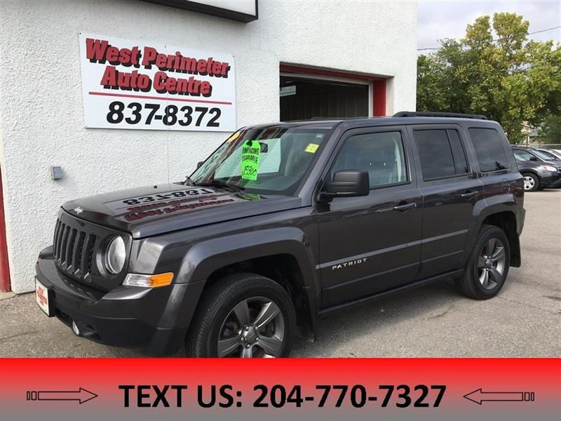 2015 Jeep Patriot Sport/North 4X4 SUNROOF, HEATD LEATHER, POWER SEAT #5447