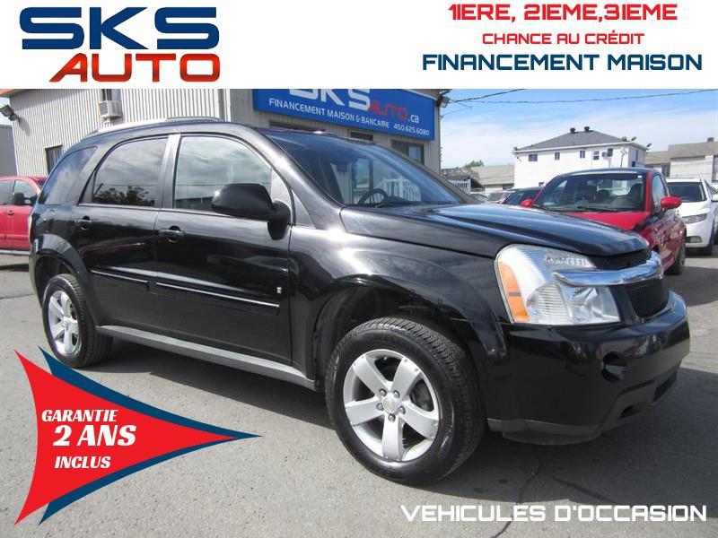Chevrolet Equinox 2008 LT (GARANTIE 2 ANS INCLUS) FINANCEMENT MAISON #SKS-4182-1