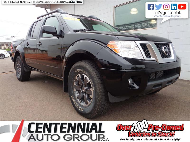 2018 Nissan Frontier PRO-4X| 4x4 | Crew Cab | Leather | Bluetooth #P18-096