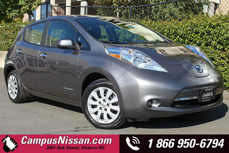 2015 Nissan Leaf S w/ Quick-Charge #JN3041