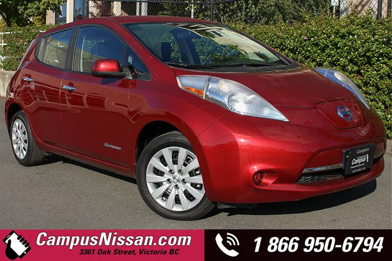 2015 Nissan Leaf S w/ Quick-Charge #JN3046