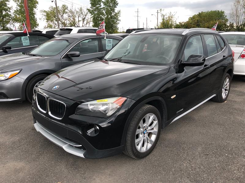 BMW X1 2012 AWD 4dr 28i+TOIT PANO+CUIR+MAGS+WOW! #UD4871