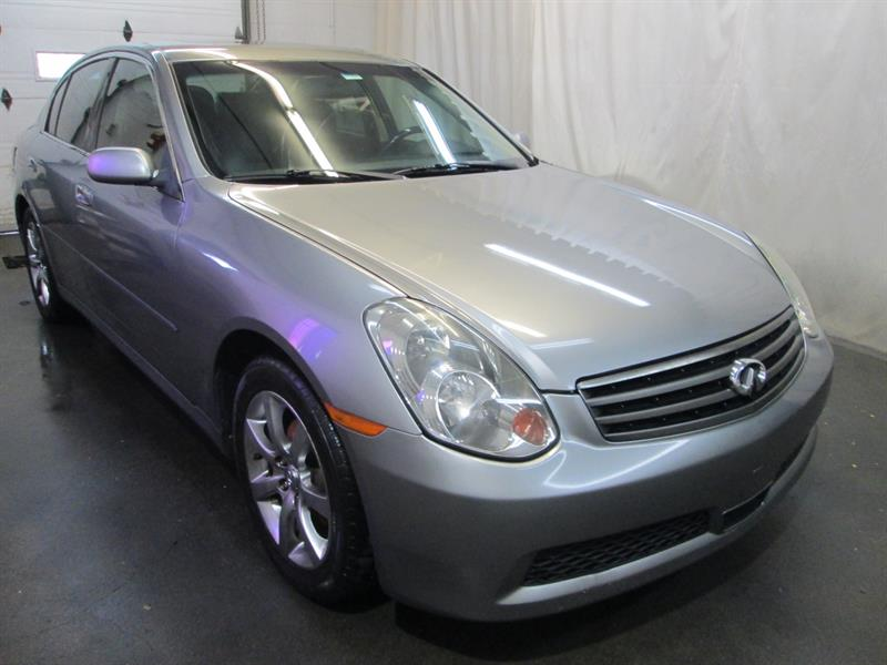 Infiniti G35 Sedan 2005 AWD Luxury  #8-0906