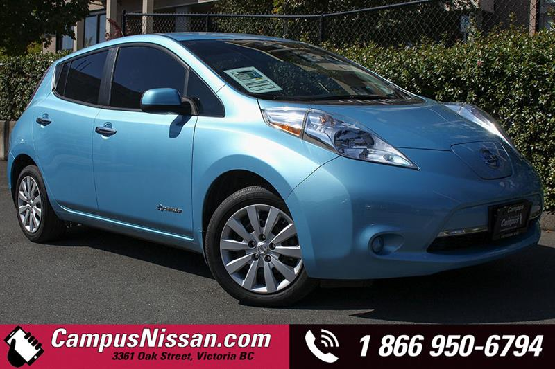 2015 Nissan Leaf S w/ Quick-Charge #JN3025