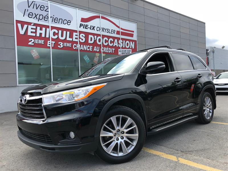Toyota Highlander 2014 AWD 4dr XLE+NAV+MAGS+TOIT+CUIR+8 PASSAGER+CAMERA #UD4838