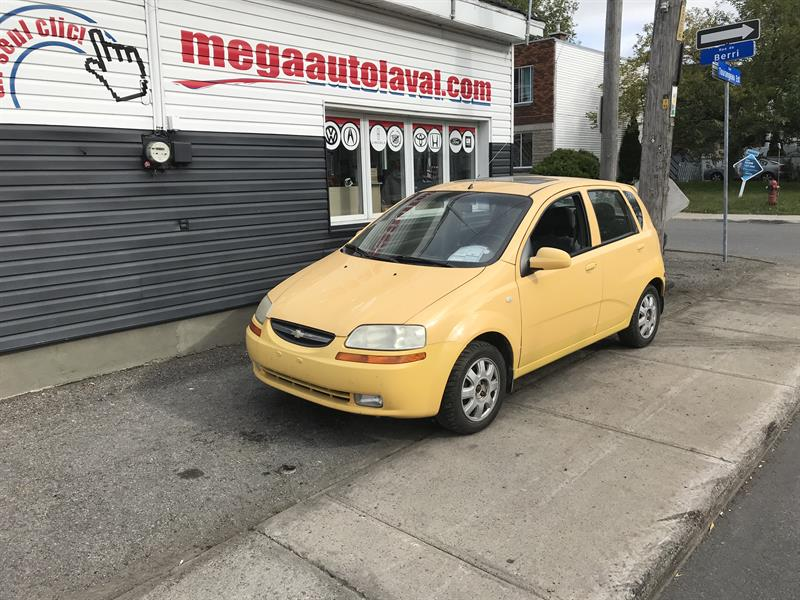 2005 Chevrolet Aveo 5dr Wgn Lt Used For Sale In Laval At Mga Auto Laval