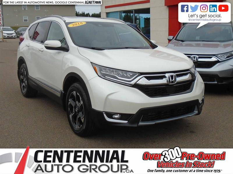 2018 Honda CR-V Touring | AWD | Backup Camera | NAVI |  #9152A