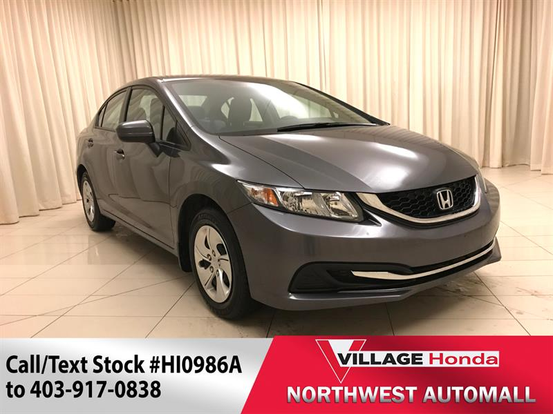 2014 Honda Civic Sedan LX CVT #HI0986A