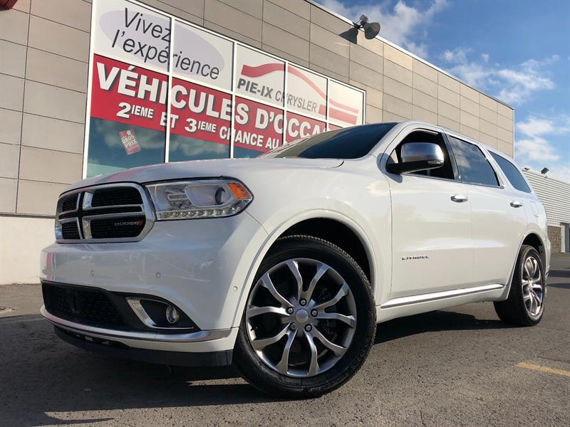 Dodge Durango 2018 Citadel Platinum AWD+V8 HEMI+DVD+NAV+TOIT #CT18264