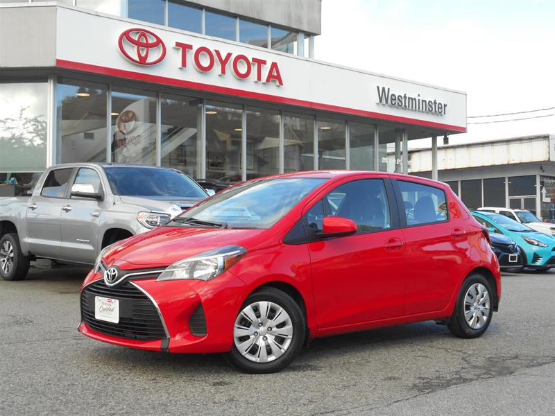 2015 Toyota Yaris LE 5 Door Hatchback #P6657T