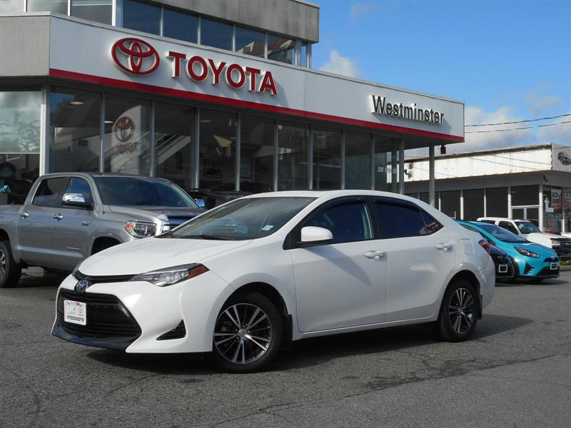 2017 Toyota Corolla LE Upgrade Package #P6664T