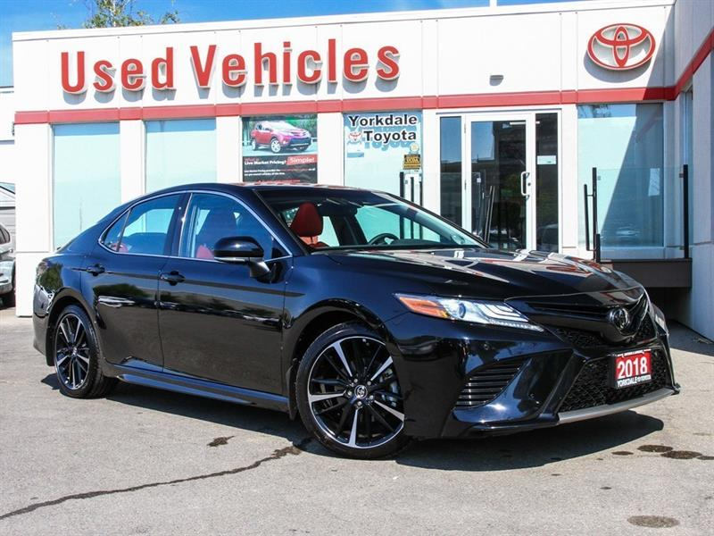 2018 Toyota Camry XSE V6   Leather   Panoroof   Alloys #P7512