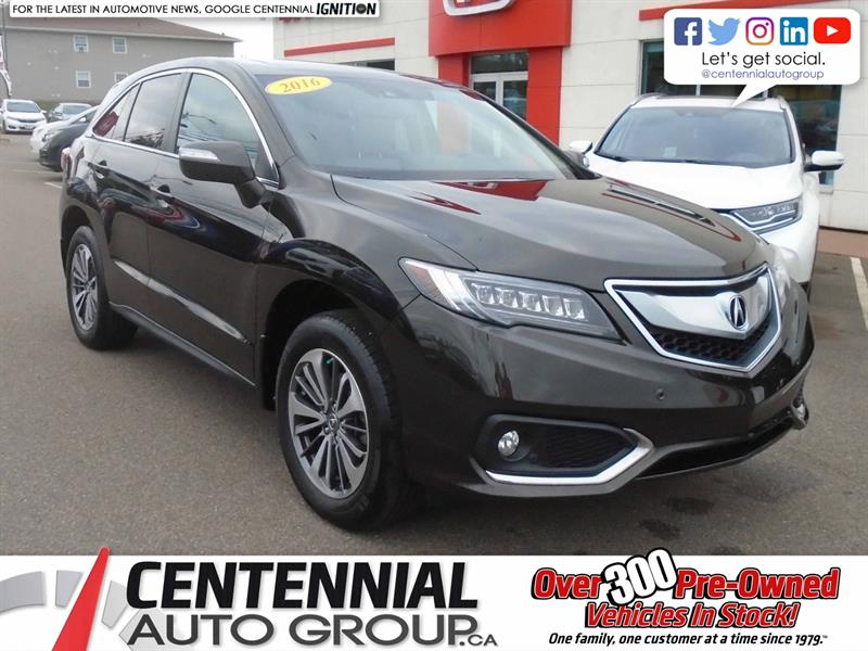 2016 Acura RDX Elite | NAVI | Back Up Camera | Heated Seats |  #U1803
