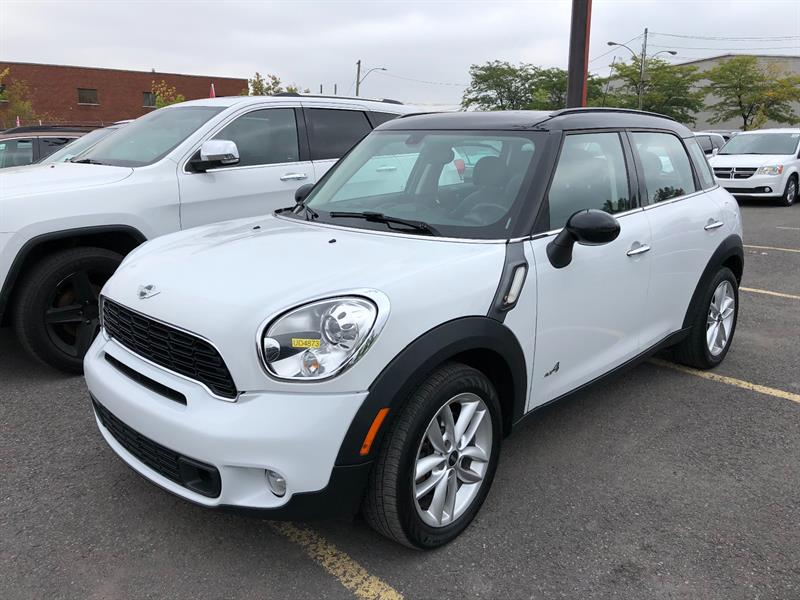 Mini Cooper Countryman 2014 ALL4 4dr S+AWD+MAGS+CUIR+A/C+GR.ELEC+TOIT PANO++ #UD4873