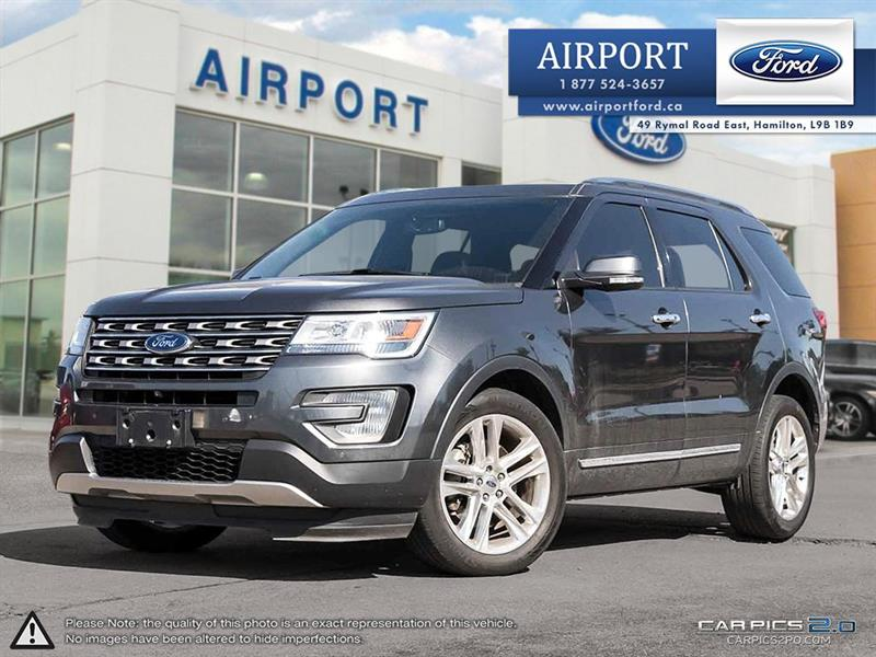 2016 Ford Explorer Limited 4WD with only 40,822 kms #A80754