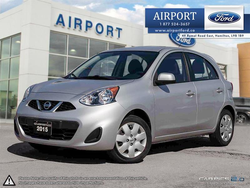 2015 Nissan Micra SV Hatchback with only 23,183 kms #A80743