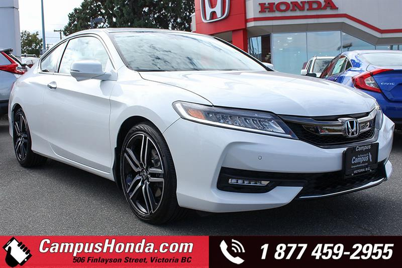 2017 Honda Accord Coupe Touring V6 Coupe Manual Navigation  #18-0813A