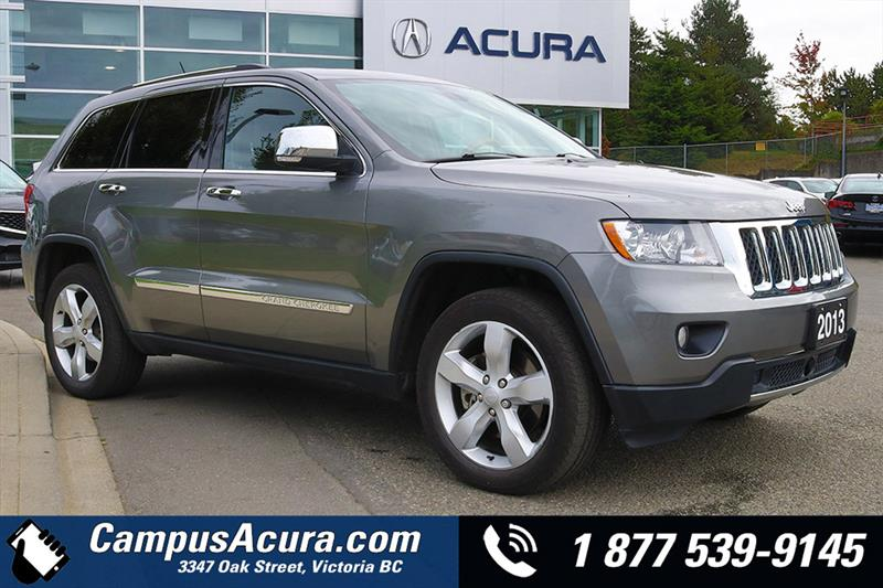 2013 Jeep Grand Cherokee 4WD 4dr Overland #19-6065A