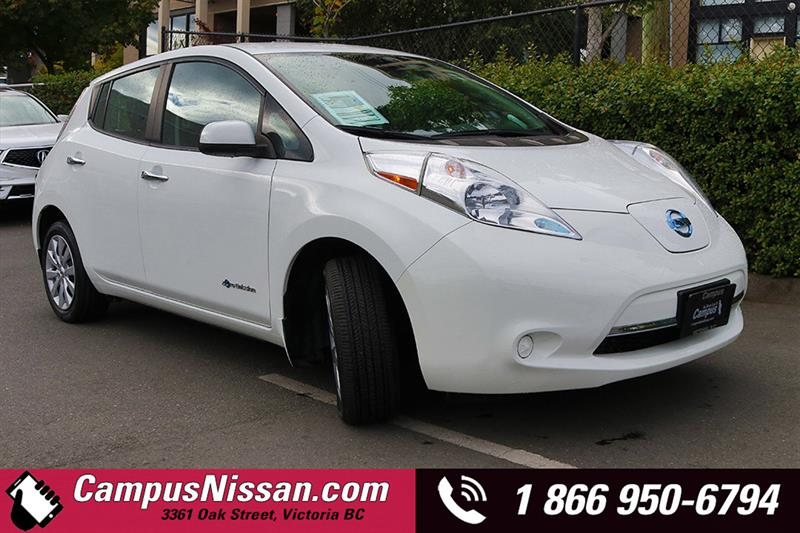 2015 Nissan Leaf  S w/ Quick-Charge #JN3026