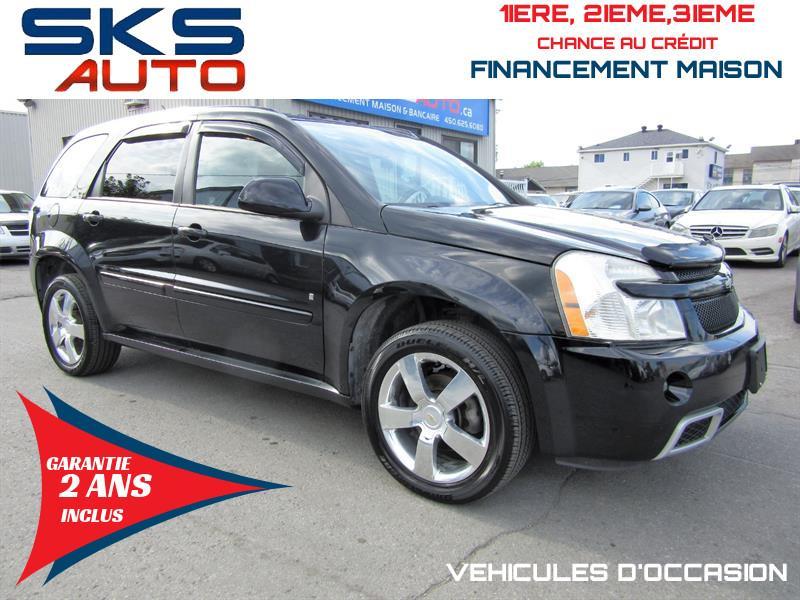 Chevrolet Equinox 2008 (GARANTIE 2 ANS INCLUS) *FINANCEMENT MAISON* #SKS-4181-2
