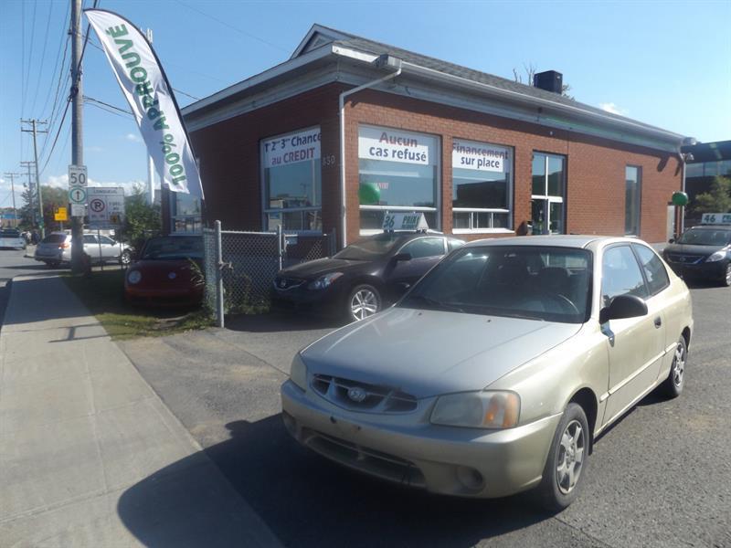 Hyundai Accent 2002 3dr HB Cpe GS #2420-09