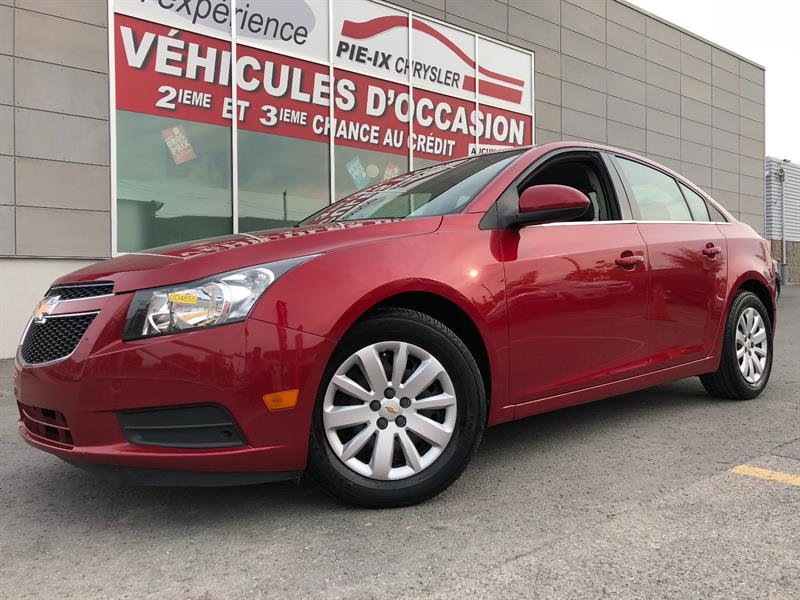 Chevrolet Cruze 2011 4dr Sdn LT Turbo+A/C+GR.ELEC+CRUISE+WOW! #UD4855