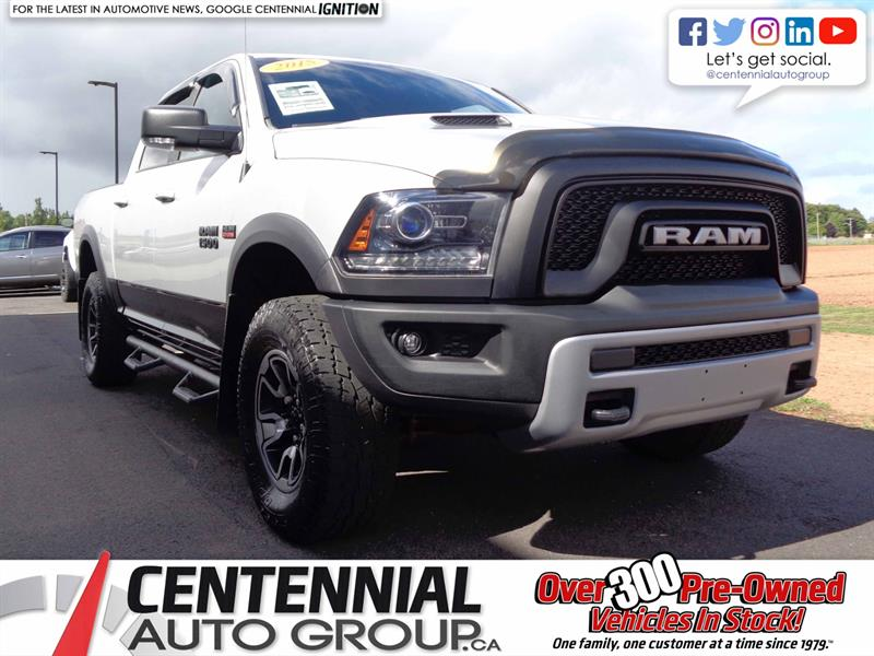 2015 Ram 1500 Rebel | 4WD | Height Adjustable | #S18-045A
