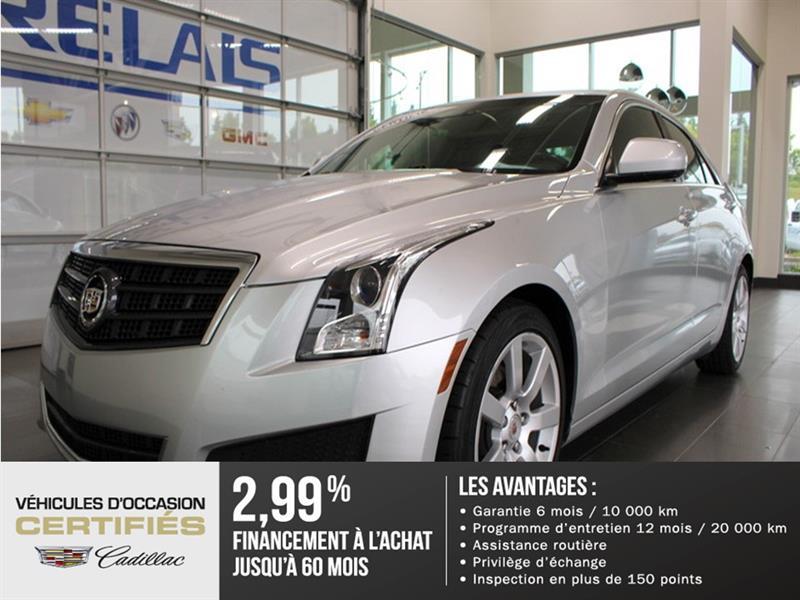 Cadillac ATS 2014  RWD - CUIR - MAGS #k808035a