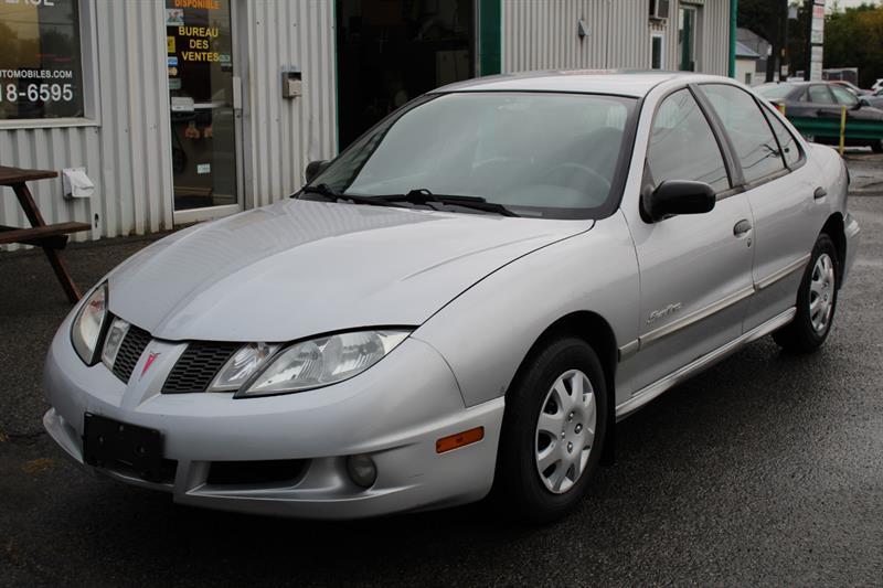 Pontiac Sunfire 2003 4dr Sdn #PV6738A