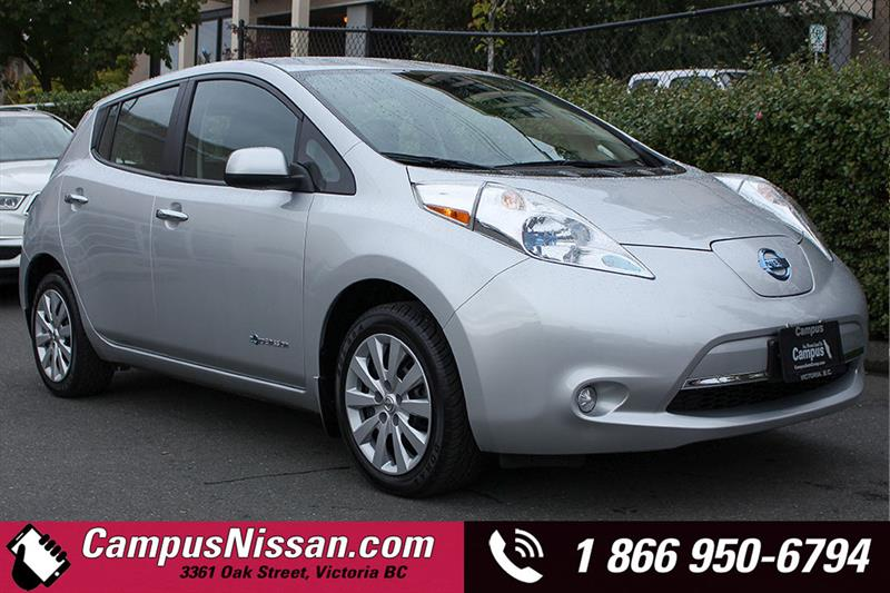 2014 Nissan Leaf S w/ Quick-Charge #JN3024