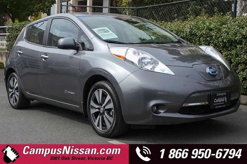 2015 Nissan Leaf SV w/ Premium-Tech #JN3034