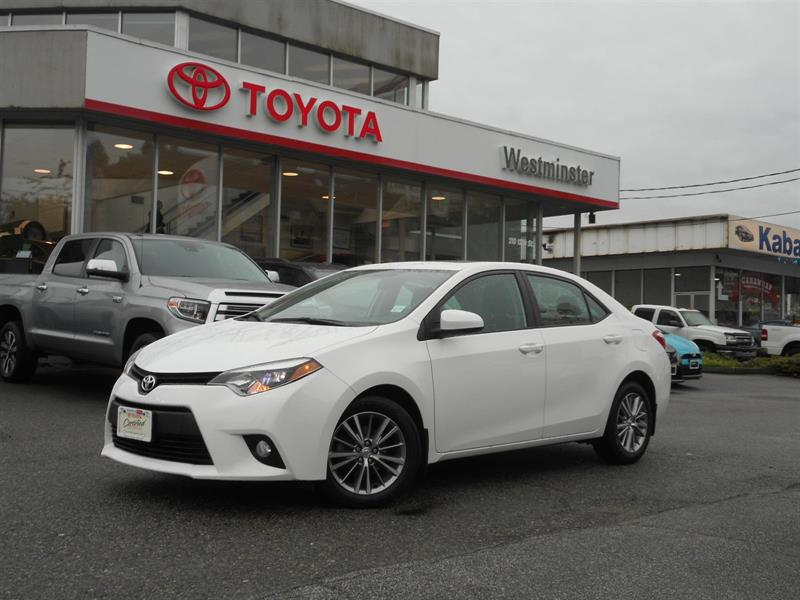 2014 Toyota Corolla LE Premium Package #P6665T