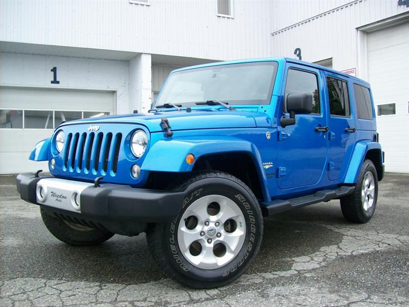 Jeep Wrangler Unlimited 2014 Sahara #J4759A