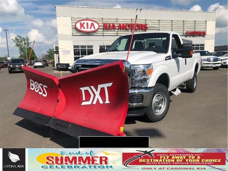 2016 Ford F-250 XL SD l 4X4   NEW PLOW AND SALTER! #7019