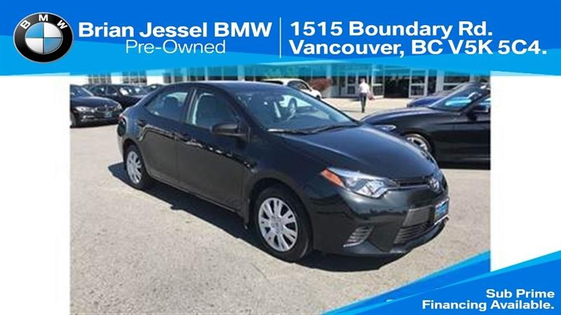 2016 Toyota Corolla 4-door Sedan LE CVTi-S #BP6751