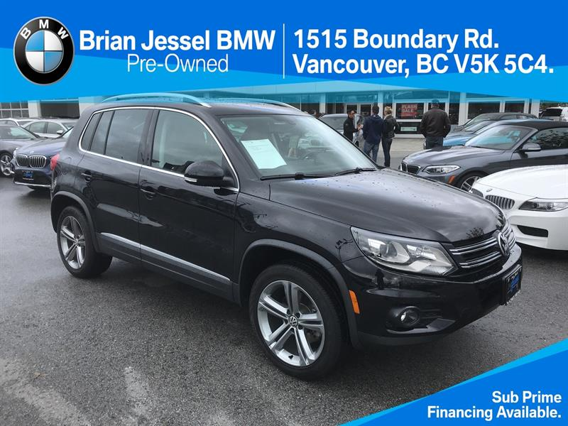 2017 Volkswagen Tiguan Highline 2.0T 6sp at w/ Tip 4M #BP7080