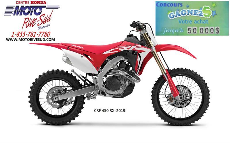 Honda CRF 450 RX 2019 MOTOCROSS #2019-0005