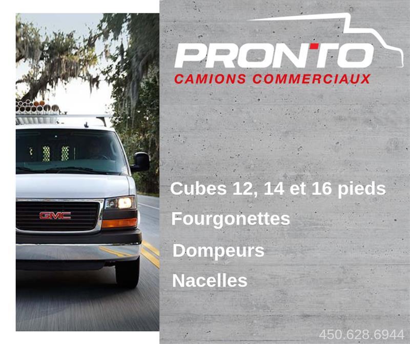 GMC Cube Van 2017 3500 ** Cube 12 pieds ** Cube 14 pieds ** #E-1008