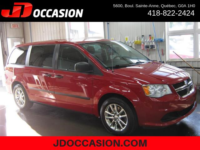 Dodge Grand Caravan 2015 4dr Wgn Canada Value Package #90051A