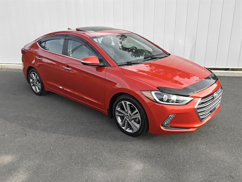 2017 Hyundai Elantra Limited Ultimate #K1237A