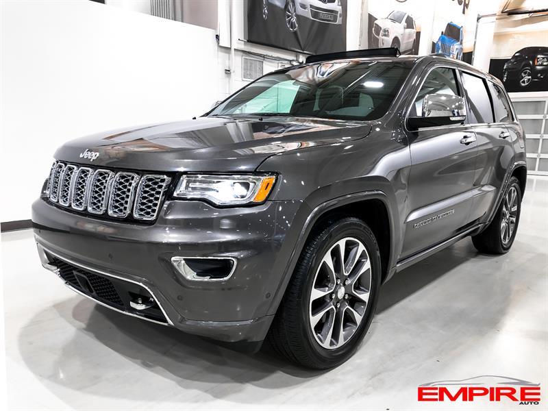 Jeep Grand Cherokee 2018 OVERLAND GPS/NAV TOIT PANO #A6836