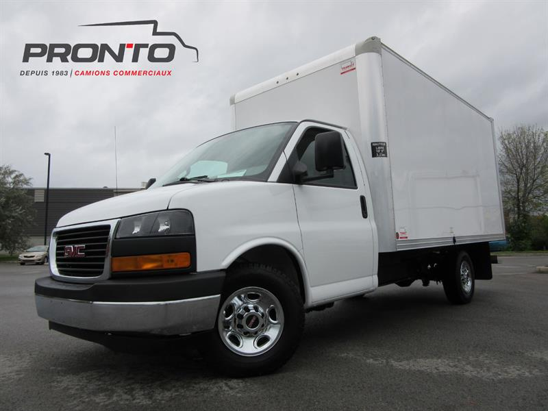 2017 Gmc Savana 3500 3500 Cube 14 Pieds Used For Sale In Laval