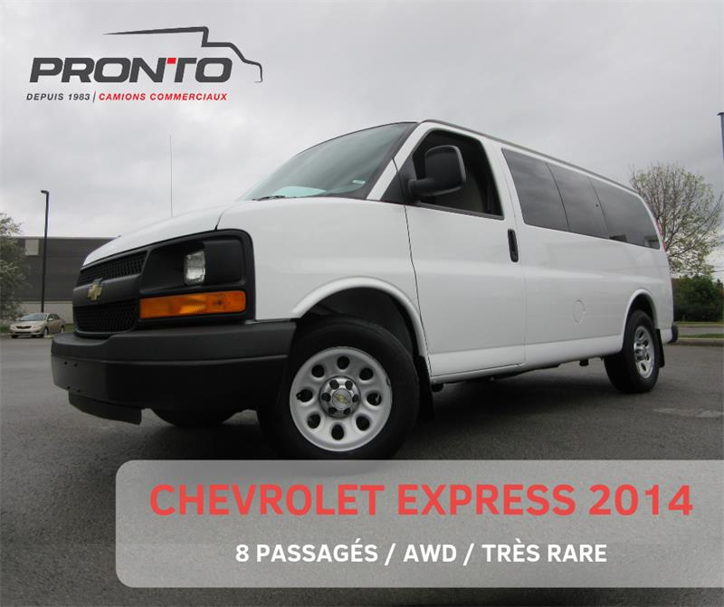 Chevrolet Express Passenger 2014 AWD 1500 ** IMPECCABLE ** #3737